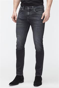 7 for all mankind heren jeans slimmy tapered luxe performance eco grey jsmxb820lg