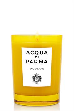 acqua di parma geurkaars oh, l'amore scented candle