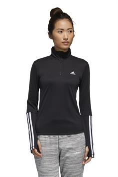 adidas dames shirt women intuitive warmth 1/4 zip longsleeve gd4626