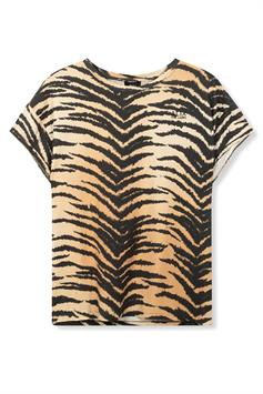 alix the label dames t-shirt all over tiger 21068.18.039