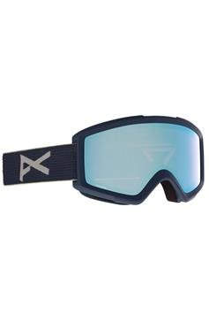anon heren goggle helix 2.0 22257100400 blue + spare lens