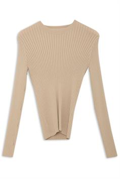 another label dames t-shirt dena knitted pull l/s b74-250161