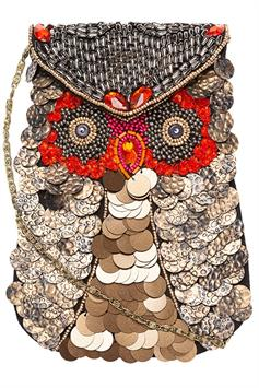 by bar dames tas owl bag