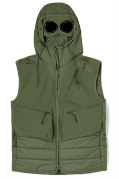c.p. company heren bodywarmer outerwear - vest cp shell - r mixed 11cmow107a 006097m