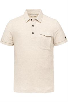 cast iron heren polo korte mouw short sleeve polo slim fit cotton cpss213873