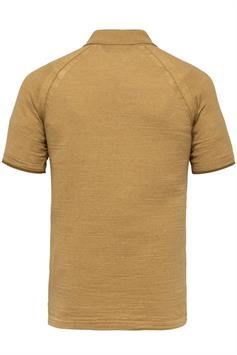 cast iron heren polo korte mouw short sleeve polo slim fit knitted cpss213876
