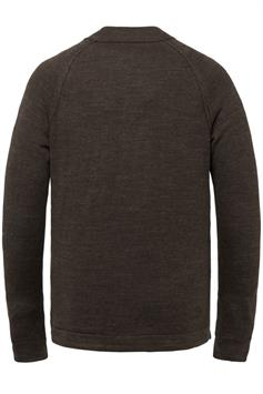 cast iron heren trui mock neck cotton heather plated ckw215301