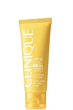 clinique spf 30 anti-wrinkle face cream with solarsmart+ high protection 50 ml
