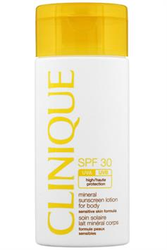 clinique spf 30 mineral sunscreen lotion for body high protection 125 ml