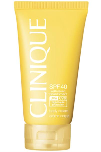 clinique spf 40 body cream with solarsmart high protection 150 ml