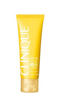 clinique spf 40 face cream with solarsmart high protection 50 ml