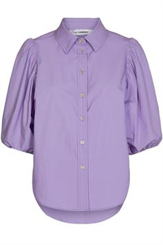 co'couture dames blouse lange mouw yates puff crystal shirt 95670