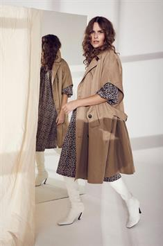 co'couture dames jack trench poncho 90123
