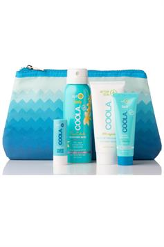 coola 4-delig organic suncare travel set spf 30