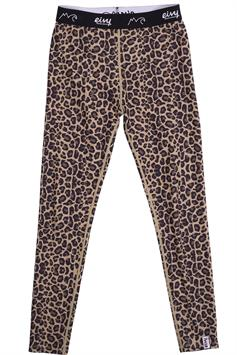 eivy dames thermo legging icecold tight leopard