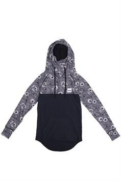 eivy dames thermo trui icecold hoodie top ivy blossom