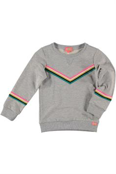 funky xs meisjes sweater cg1 rainbow sweat