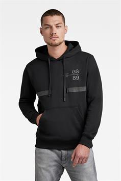 g-star heren hoodie back tape hdd sw d20404-a613-6484