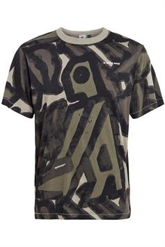 g-star heren t-shirt brushed object ao loose r t s\s d19371-c334-c373