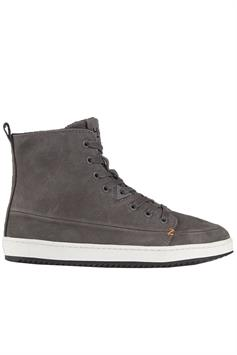 hub dames sneakers base n42 oiled nubuck anthracite/off white-black