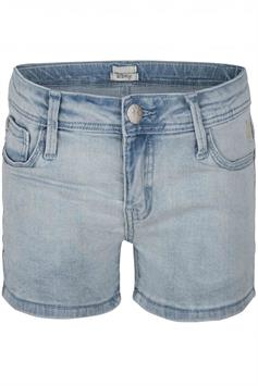 indian blue meisjes short denim shorts ibg20-6005