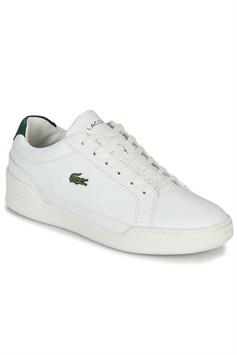 lacoste heren sneakers challenge 0120 1 sma wht/dk grn leather 7-40sma00581r5