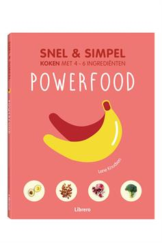 librero kookboek powerfood - snel & simpel 978-90-8998-840-9