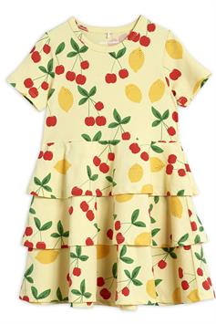 mini rodini kids jurk cherry lemonade aop ss dress 2125012023