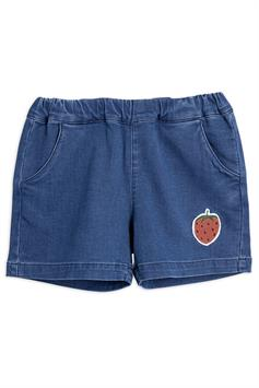 mini rodini kids short denim strawberry shorts 2123010360