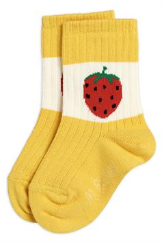 mini rodini kids sokken strawberry ribbed socks 2126012123