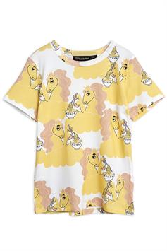 mini rodini kids t-shirt unicorn noodles aop ss tee 2122012823