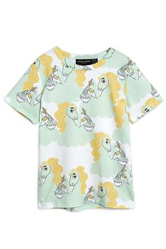 mini rodini kids t-shirt unicorn noodles aop ss tee 2122012875