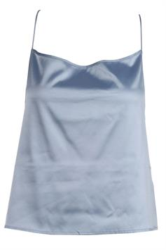 na-kd dames top cross back straight neckline singlet 1018-003708
