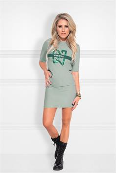 nikkie dames jurk suzy tee dress n 5-211 2002