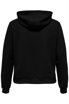 only play curvy dames hoodie onpdess crop hood swt - curvy 15229176