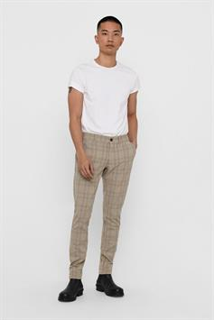only & sons heren broek mark pant check dt 9661 22019661