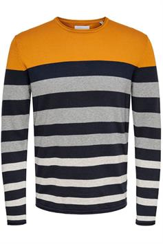 only & sons heren trui don 12 striped crew neck knit 22018204
