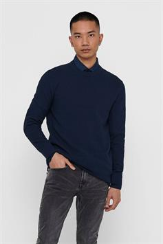 only & sons heren trui onsdanny 12 structure crew neck knit 22018203
