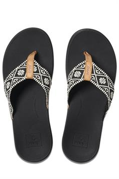 reef dames slippers reef ortho-bounce woven rf0a3vdn