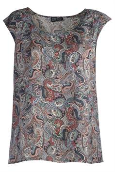repeat silver edition dames blouse 600348s201