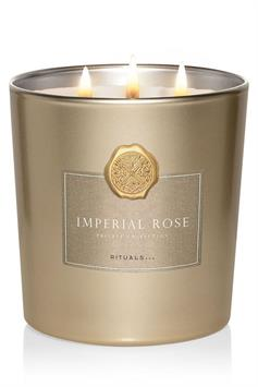 rituals private collection imperial rose scented candle 1000g