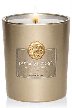 rituals private collection scented candle imperial rose