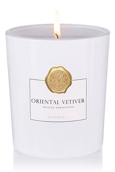 rituals private collection scented candle oriental vetiver