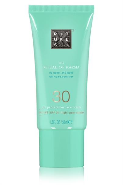 rituals - ritual of karma sun protection face cream spf 30