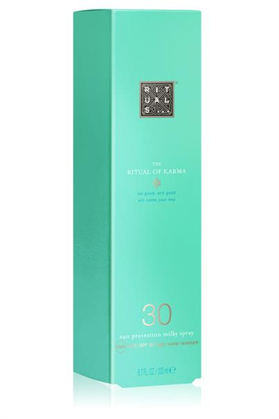 rituals the ritual of karma sun protection milky spray spf 30 200 ml