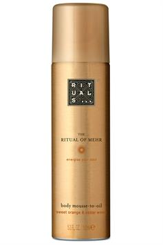 rituals the ritual of mehr body mousse-to-oil 150 ml