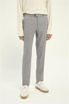 scotch & soda heren broek mott- classic chino in yarn-dyed 160715