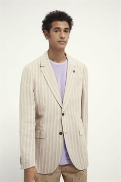 scotch & soda heren colber chic summer pinstripe blazer 160673