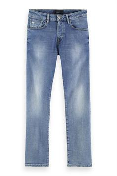 scotch & soda heren jeans skim - contains recycled cotton - w 160549