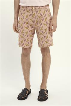 scotch & soda heren short stuart- all-over printed pima cotto 160739
